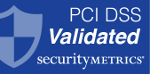 Selo PCI DSS Validated Blue Security Metrics